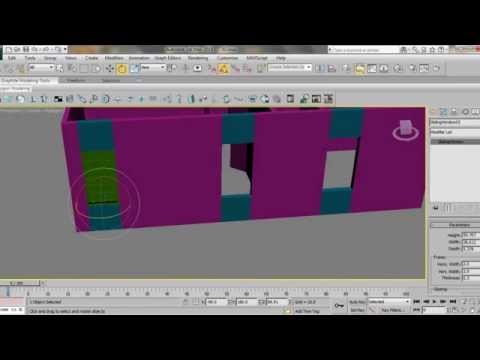 3ds Max House Modeling Tutorial: Finishing Home Design By Adding Doors & Windows