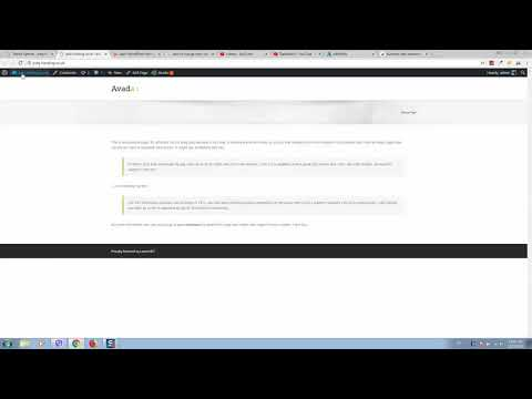 How to change avada page title bar background image text color and padding