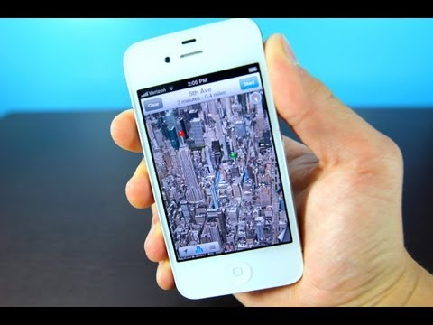 How To Install Flyover on iPhone 4/3Gs & iPod Touch 4G iOS 6 - 3D Maps & Turn By Turn Navigation