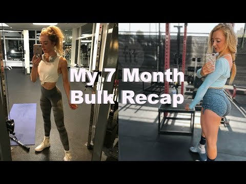 My 7 Month Bulk | How Much Weight Did I Gain?