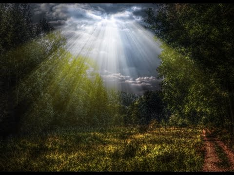 Adobe Photoshop Tutorial - Creating natural SUN RAYS easily