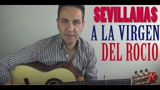 SEVILLANAS ROCIERAS, Tutorial (Jerónimo de Carmen) Guitarraflamenca