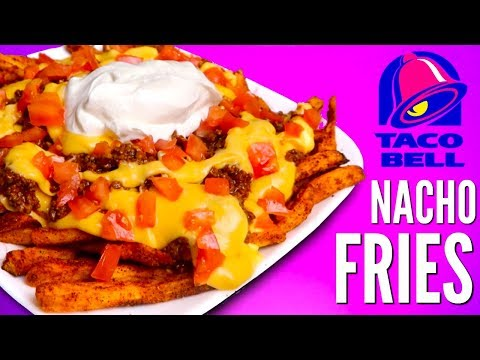 TACO BELL NACHOS FRIES DIY | How To
