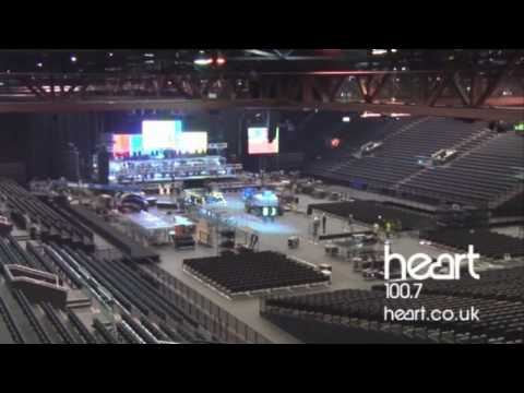 X-Factor Live time-lapse stage build at LG Arena, Birmingham