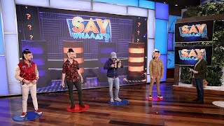 Jonas Brothers Play 'Say Whaaat?