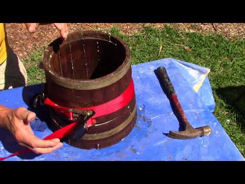 How to make a Planter Drum, Part 1