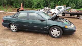 SOMEONE SCRAPPED A 1995 FORD TAURUS SHO