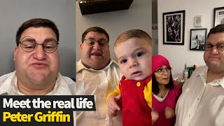 Meet the real life Peter Griffin from Family Guy