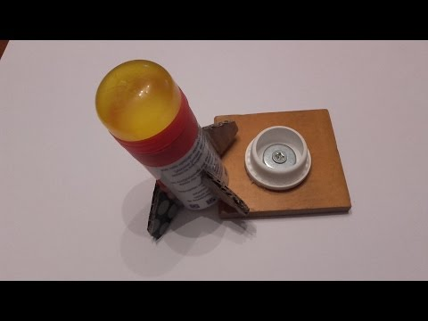 soda vinegar rocket SAFE VERSION