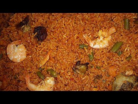Assorted Jollof Rice Recipe