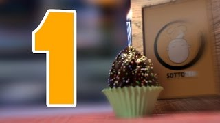 Happy First Birthday SottoZen - (3D Blender cake)