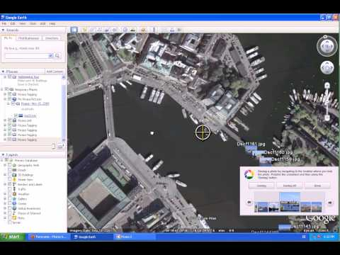 Geotag pictures with Picasa & Google Earth for uploading them to Panoramio