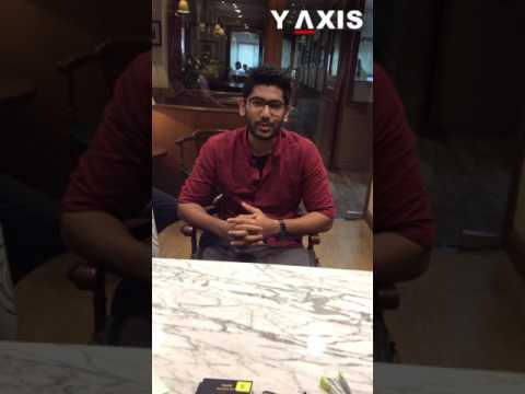 Y-Axis client Israel Vivek 's Video Testimonial on visit visa process