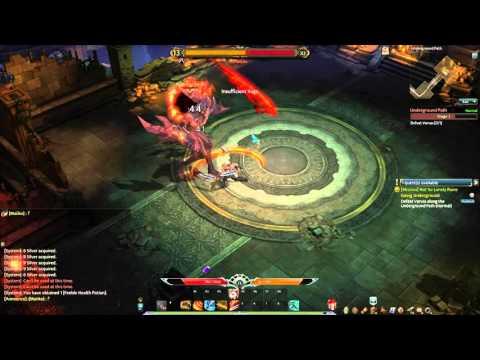 Devillian open beta: Underground Path (dungeon)