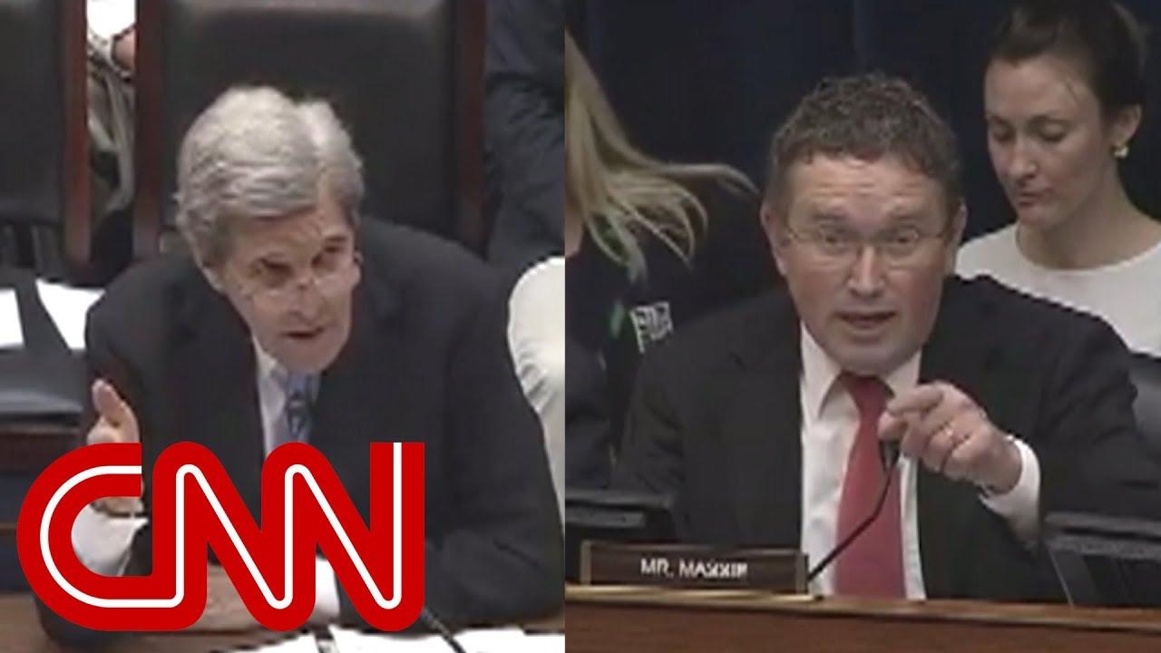 John Kerry fires back at congressman: Are you serious?