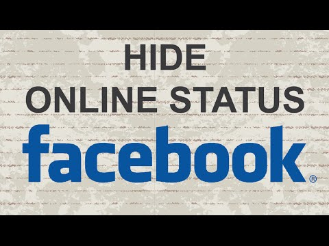 How to hide online status on Facebook