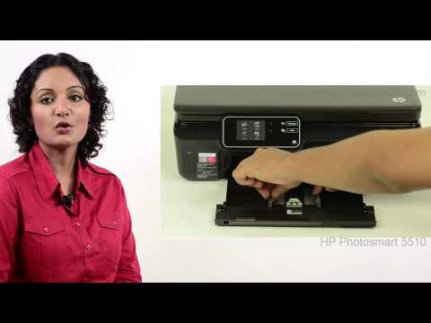 HP Photosmart 5510 - Replacing/Installing Ink Cartridges - Preview