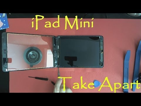 iPad Mini Take Apart Teardown And How To Clean Water Damage