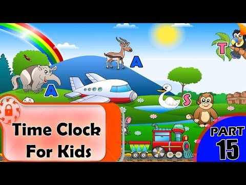 Time Clock For Kids | Clock Timings | Learn Clock Time in English | How to Read the Time