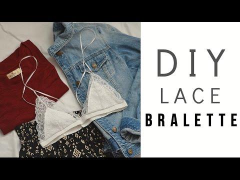 EASY DIY Lace Bralette for Under $4