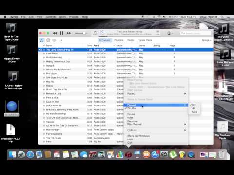 How To Repeat Song Or Playlist On iTunes 12 l Simple & Easy