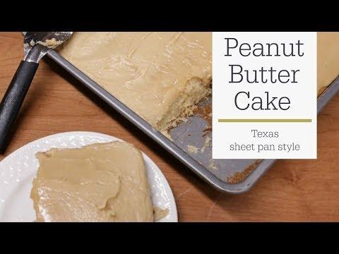 Peanut Butter Cake Recipe - Texas Sheet Cake | RadaCutlery.com