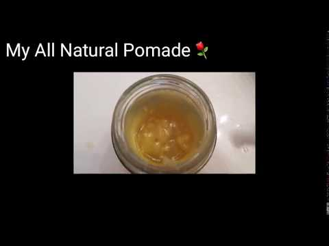 DIY All Natural Pomade For My Chebe Mix