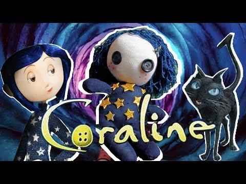 (DIY) Coraline Plushie