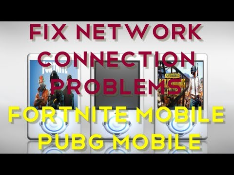 How to Fix Network Connection Problems in FORTNITE Mobile & PUBG Mobile (Android|iOS)