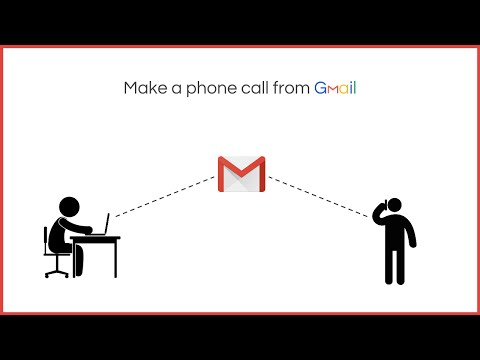 Make a Phone Call from Gmail