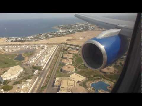 Thomas Cook 757-200 landing at Sharm el Sheikh runway 4R (TCX 4822)