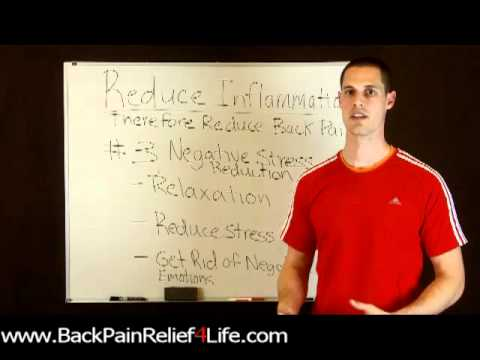 Back Pain Relief4Life REDUCE INFLAMMATION #3