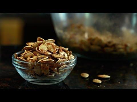 Sweet Heat Roasted Pumpkin Seeds