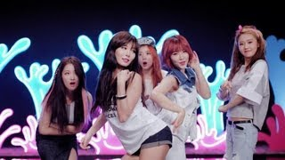 4MINUTE - '물 좋아? (Is It Poppin'?)' (Official Music Video)
