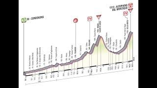 Giro d'Italia 2013 10a tappa Cordenons-Altopiano del Montasio (167 km)