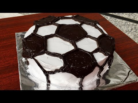 Football | Cake Decorating Tutorial | Kitchen Time with Neha