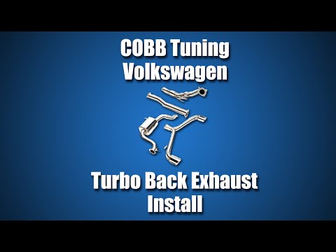 COBB Tuning - Volkswagen MK6 GTI Turbo Back Exhaust Install