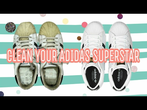 How to clean your adidas superstar. 2017 with proof.