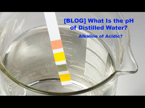 What Is The pH of Distilled Water? Acidic or Alkaline? Frank Mendez WaterDistillers.com
