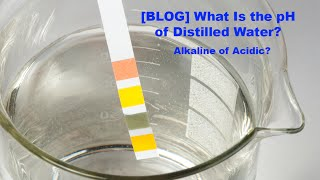 What Is The Ph Of Distilled Water Acidic Or Alkaline Frank Mendez Wat