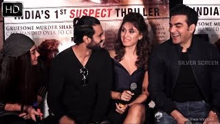 Arbaaz Khan & Manjari Phadnis At Trailer Launch Of Film NIRDOSH | Bollywood Events