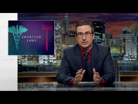 Abortion Laws: Last Week Tonight with John Oliver (HBO)
