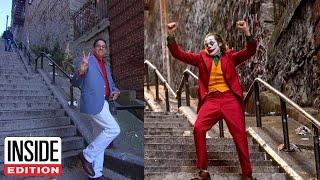 'Joker' Fans Flock to Stairs From Dancing Scene