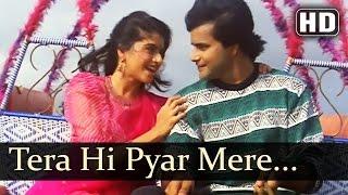 Tera Hi Pyar Mere - Paayal - Alka Yagnik - Kumar Sanu - Bollywood Romantic Songs