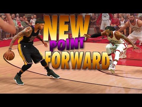 NEW 6'8 Ankle Breaking POINT FORWARD Creation - NBA 2K17 MyCareer & MyPark