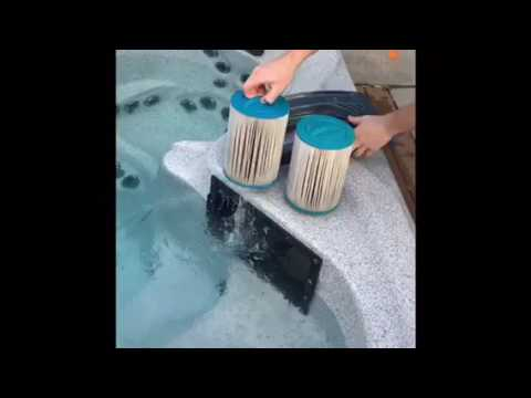 How to Clean your Hot Tub Filters