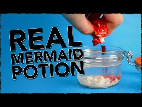 How To Become A Mermaid - A Potion That Really Works