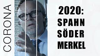 Ein Pharma-Lobbyist als Minister. Söders MaskenShow im BR. Merkel lobt Gates. Coronavirus Covid-19