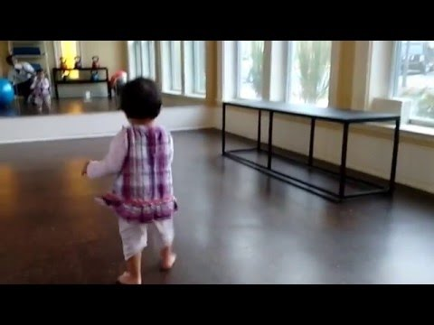 toddler learning standing and walking