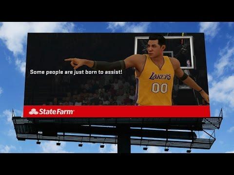 NBA 2K15 PS4 My Career - Pharrell Again & State Farm Endorsement (read description) - S02E08